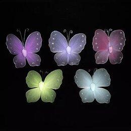 Галстуки и бабочки - Бабочка на булавке капрон 10х10см 1шт, 0