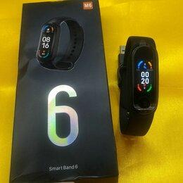 Умные часы и браслеты - Смарт часы браслет фитнес. M6 smart band watch, 0