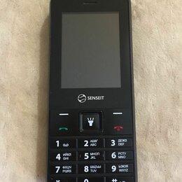 Мобильные телефоны - SENSEIT L208  2 симочный с картой памяти, 0