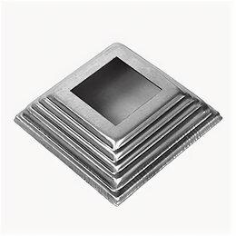 Лестницы и элементы лестниц - Основание балясины (отв:40, кв:100), 0