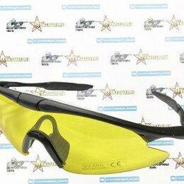 Очки и аксессуары - Очки UV Protect Police Shooting Glasses yellow Len, 0