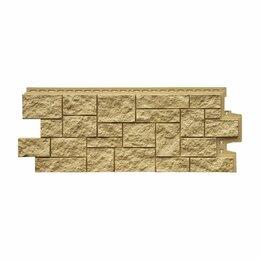 Фасадные панели - Фасадная панель Grand Line Дикий камень Стандарт Песочный, 0