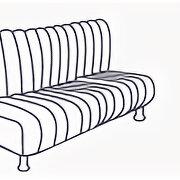 Кресла и стулья - Диван трехместный «Камелот» [(1800 мм)], 0
