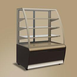 Холодильные витрины - Кондитерская витрина Carboma 0,9д люкс, 0