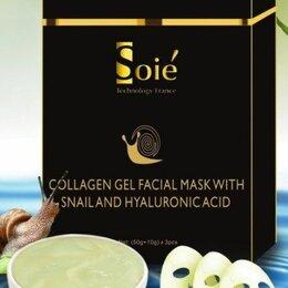 Маски - SOIE маска с муцином улитки и гиалуроновой кис-ой, 0