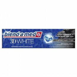 Зубная паста - Паста зубная Blend A Med 100мл 3D White Отбеливание и глубокая чистка с Древе..., 0