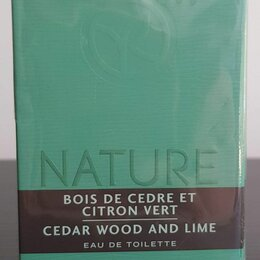 Парфюмерия - Nature Bois de Cedre et Citron Vert Ив Роше Yves Rocher Туалетная вода духи, 0