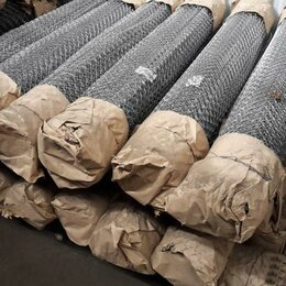 Заборчики, сетки и бордюрные ленты - Продается сетка рабица оцинкованная Жиздра, 0