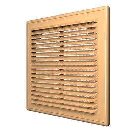 Вентиляционные решётки - Решетка 150х150   бежевая   1515Р   ЭРА, 0
