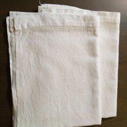 Полотенца - Льняные полотенца, носовые платки из СССР, 0