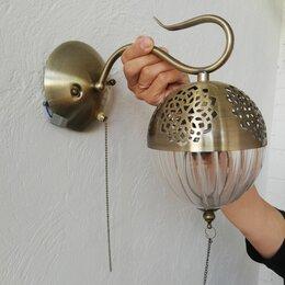 Бра и настенные светильники - Бра  цвет античная бронза, 0