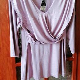 Блузки и кофточки - Блузка с драпировкой новая 48-50 размер , 0