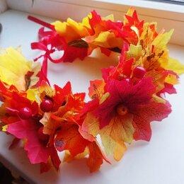 Украшения для девочек - Осенний венок, ободки, короны, 0