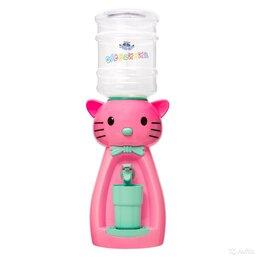 Кулеры для воды и питьевые фонтанчики - Детский кулер Кошка цвет розовый, 0