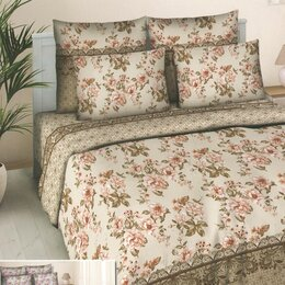 Постельное белье - Комплект постельного белья Нежность Сакуры 2,0 - сп поплин с европростыней, 0