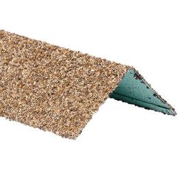 Отделочный профиль, уголки - Уголок внешний металлический HAUBERK Песчаный 50*50*1250мм, 0