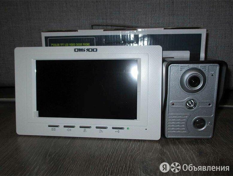 Видеодомофон Owsso с камерой по цене 2000₽ - Домофоны, фото 0