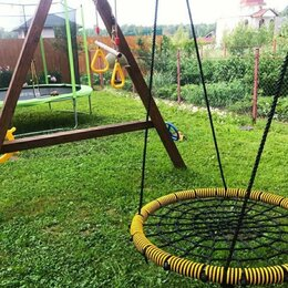 Качели - Качели Гнездо 100 см, дачное, 0