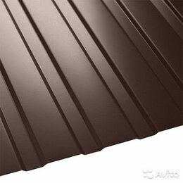 Металлопрокат - Профнастил С-8 1,2х2 шоколад, 0