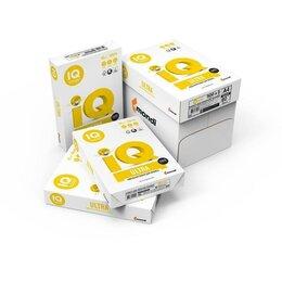 Бумага и пленка - Бумага IQ Ultra A4, 0