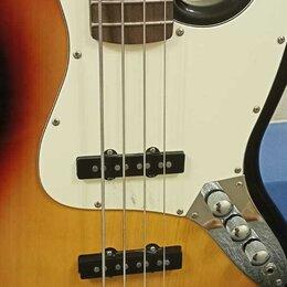 Электрогитары и бас-гитары - Бас Гитара Brahner JB-150 Jazz Bass. Бесплатная Доставка, 0