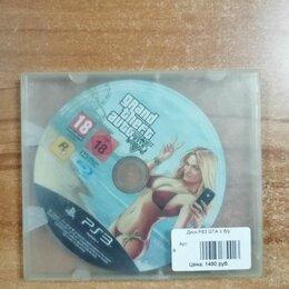 Игры для приставок и ПК - Диск GTA 5 диск для плейстейшен 3, 0