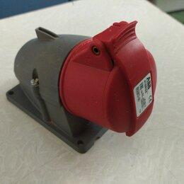 Товары для электромонтажа - Розетка ABB для монтажа на поверхность 416RS6, 16A, 3P+N+E, IP44, 6ч, 0