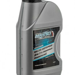 Масла, технические жидкости и химия - Масло Mikatsu 2-тактное, 0