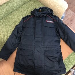 Одежда и аксессуары - Демисезонная куртка полиции и комбинезон , 0