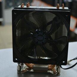 Кулеры и системы охлаждения - Кулер для процессора Cooler Master Hyper 212 EVO серебристый/черный, 0