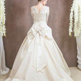 Платья - Свадебные платья с длинным рукавом, 0