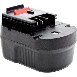 Аккумуляторы и зарядные устройства - Аккумулятор для B&D 12В,1,5 Ач, NICd, (блистер) Практика, 0