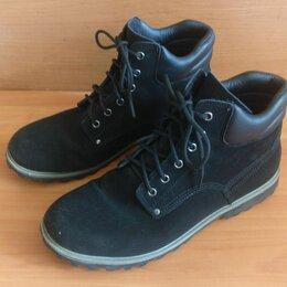 Ботинки - Ботинки Черные на Мощной подошве, 0