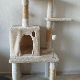 Когтеточки и комплексы  - Домик для кошки с когтеточкой большой, 0