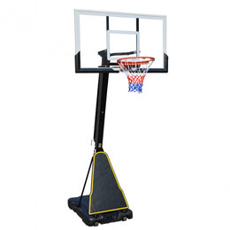 Стойки и кольца - Баскетбольная мобильная стойка DFC STAND54P2, 0