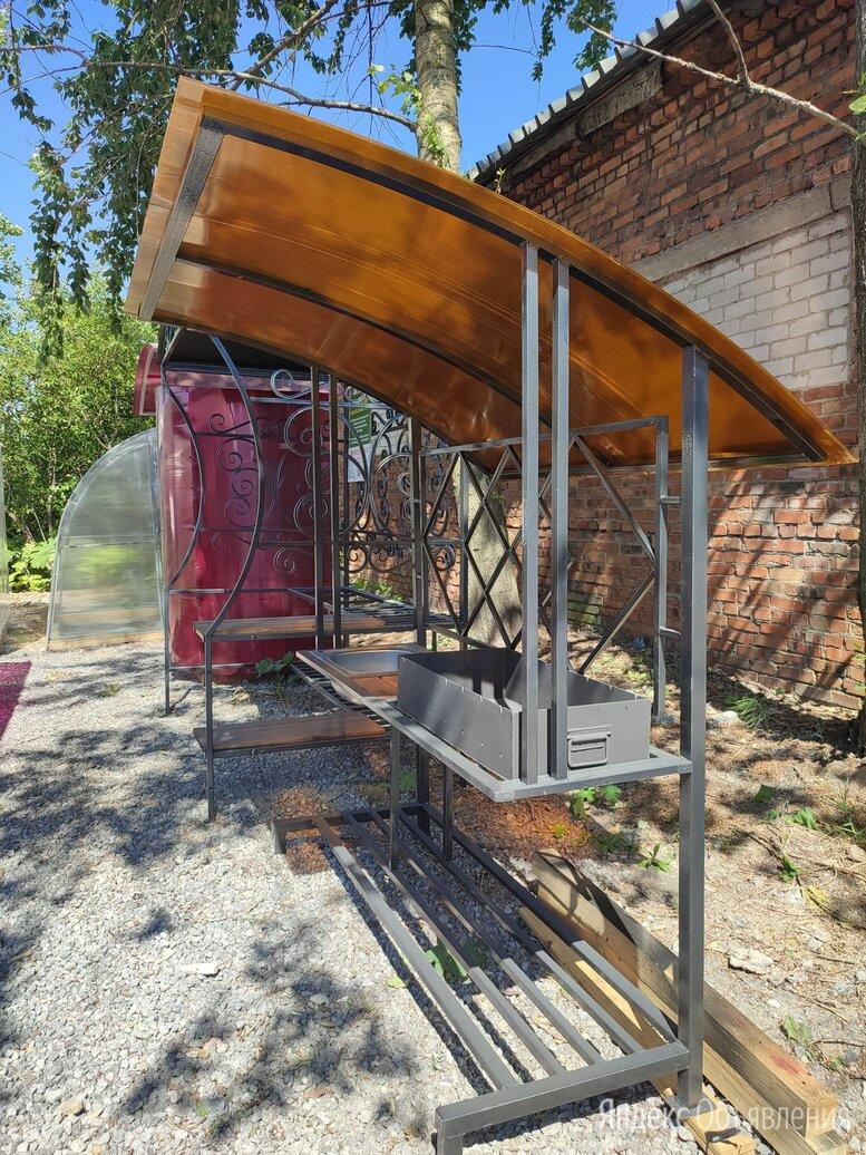 Мангал с крышей по цене 29000₽ - Грили, мангалы, коптильни, фото 0