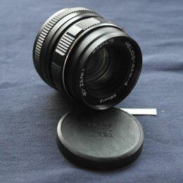 Объективы - Объектив Zenit Helios-44-М-4 М52х0,75 58 мм 1:2. Лот 00020АСВ, 0