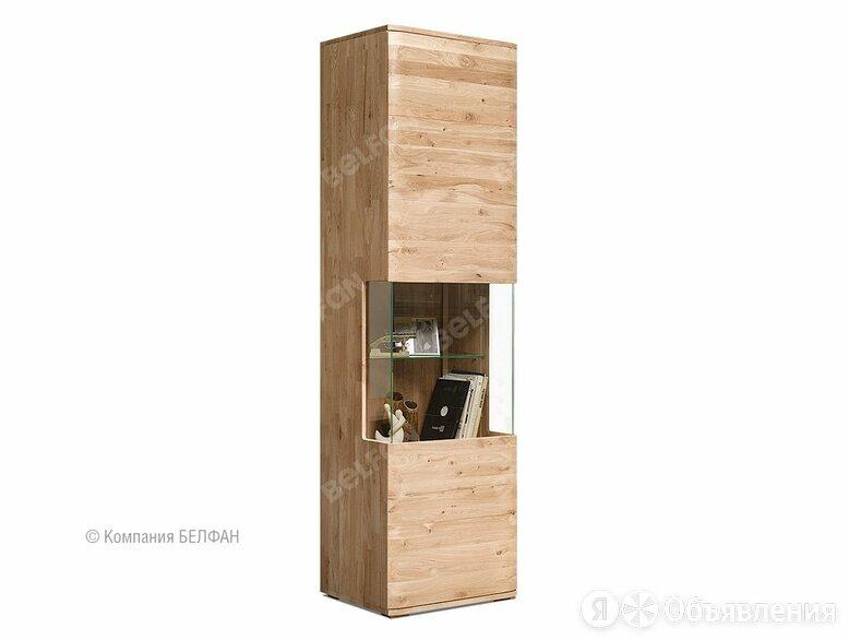 """Шкаф с витриной 1-но дверный """"Мидгард"""" (левый); белёный дуб по цене 82428₽ - Кровати, фото 0"""