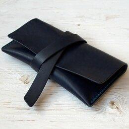 Клатчи - Клатч кожаный ручной работы, 0