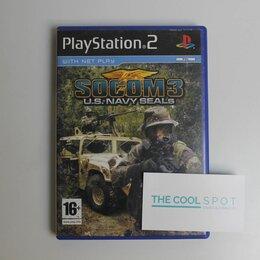 Игры для приставок и ПК - Игра Socom 3 U.S Navy Seals для Playstation 2, 0