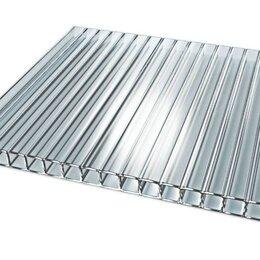 Поликарбонат - Сотовый поликарбонат 4 мм прозрачный 1000*1000 мм, 0