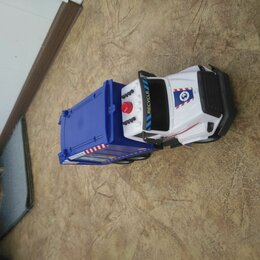 Машинки и техника - Игрушка мусоровоска , 0