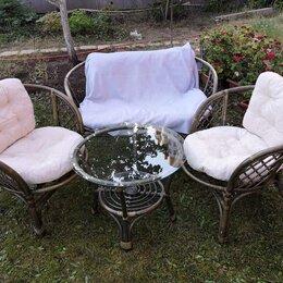 Мебель для кухни - Комплект кофейный bigarden багама, диван, 2 кресла, стол, 0