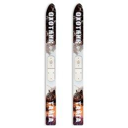 Беговые лыжи - Лыжи Тайга Маяк дерево/пластик 175*15 см, 0