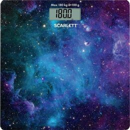 Напольные весы - Весы электронные Scarlett SC-BS33E046, 0