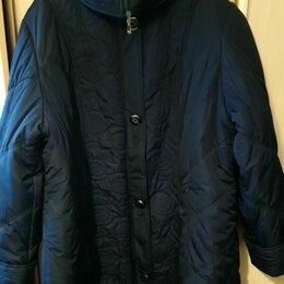 Пуховики - Пальто демисезонное новое , 0