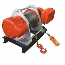 Грузоподъемное оборудование - Лебедка электрическая TOR KDJ 1,0т 100м 380V, 0
