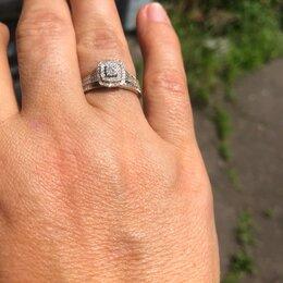 Комплекты - Золотое кольцо с брилиантами Luara, 0