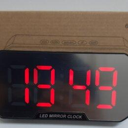 Часы настольные и каминные - Настольные часы 6099-1 красные цифры, 0