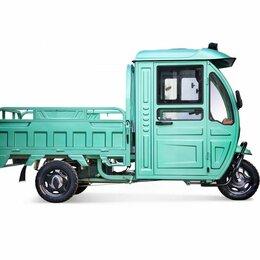 Мото- и электротранспорт - Электрический трицикл Rutrike CARGO с кабиной, 0